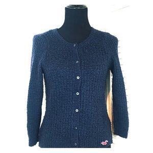 Hollister California Women's Button Down Sweater